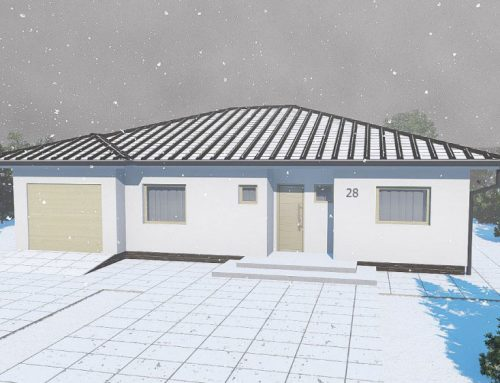 Stavba domu na jar 2020