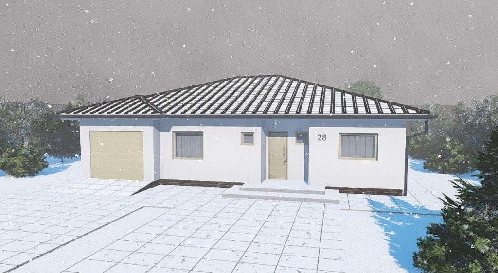 Stavba domu 2020 zimna akcia