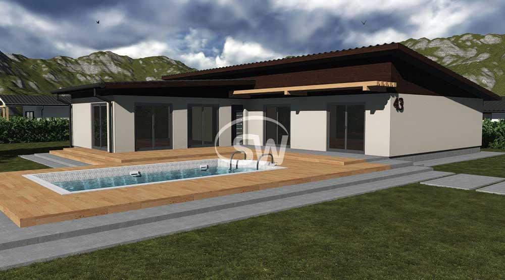 6 izbový bungalov veľkorysých rozmerov