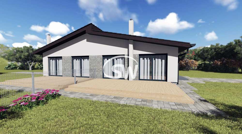 keramický Dvojdom bungalov