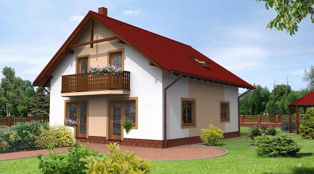Šesťizbový poschodový dom s balkónom - č.7