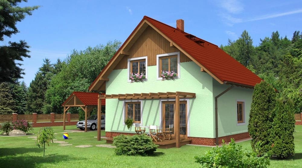 Obľúbený dvojpodlažný rodinný dom - č.5