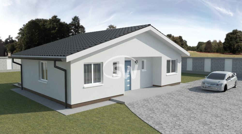 Úsporný 4-izbový bungalov