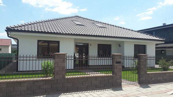 Keramický dom, bungalov od Ceramic Houses