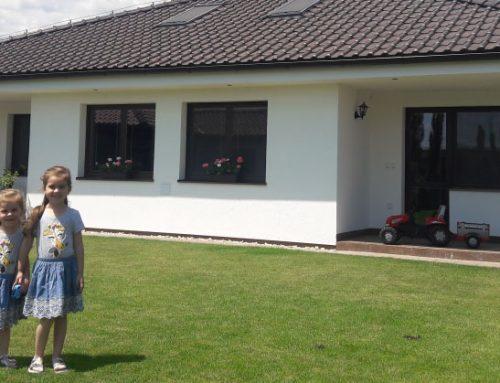 Ekologický montovaný dom, ktorý sa Vám v lete neprehrieva