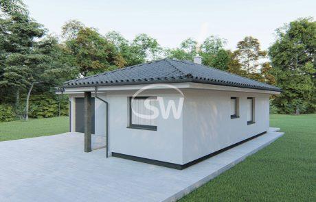 Trojizbový rodinný dom s garážou – č.24a