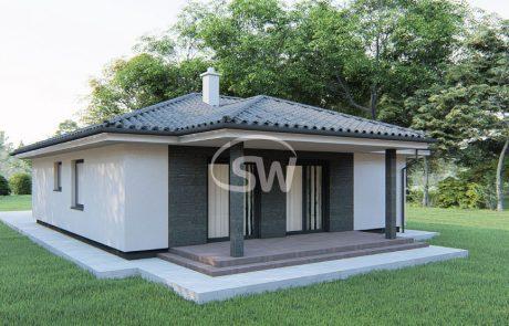 Trojizbový rodinný dom s garážou – č.24b