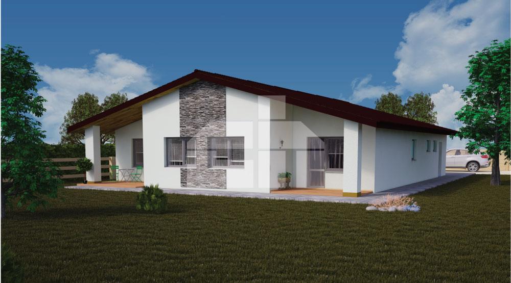 5izbový bungalov, ktorý poznáte z relácie Nové bývanie - č.40