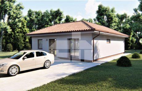 L-kový rodinný dom s troma spálňami - č.23