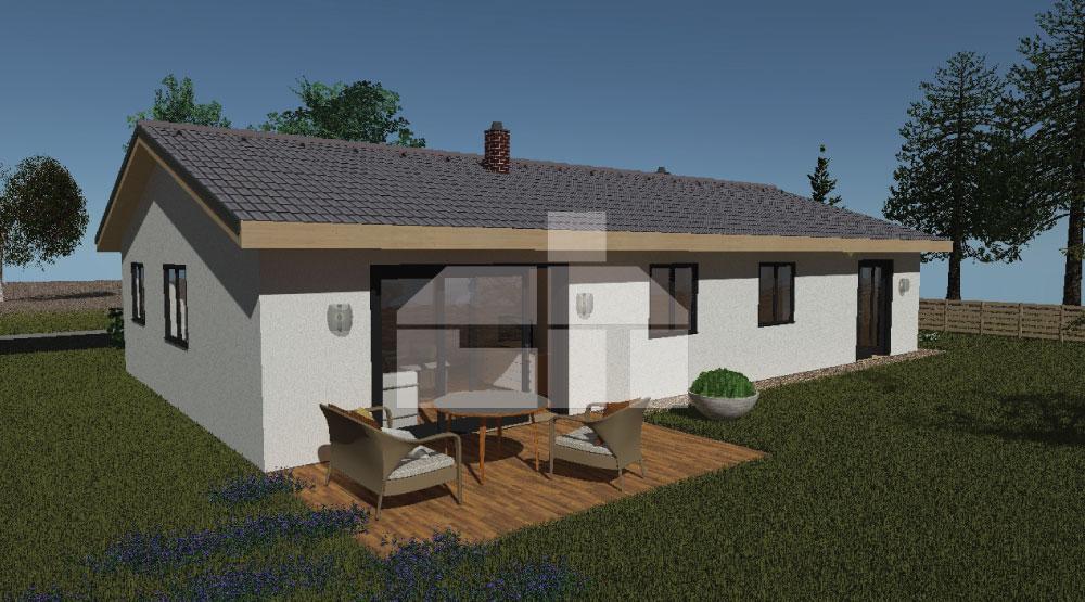 Dvojgeneračný dom s troma spálňami č.71