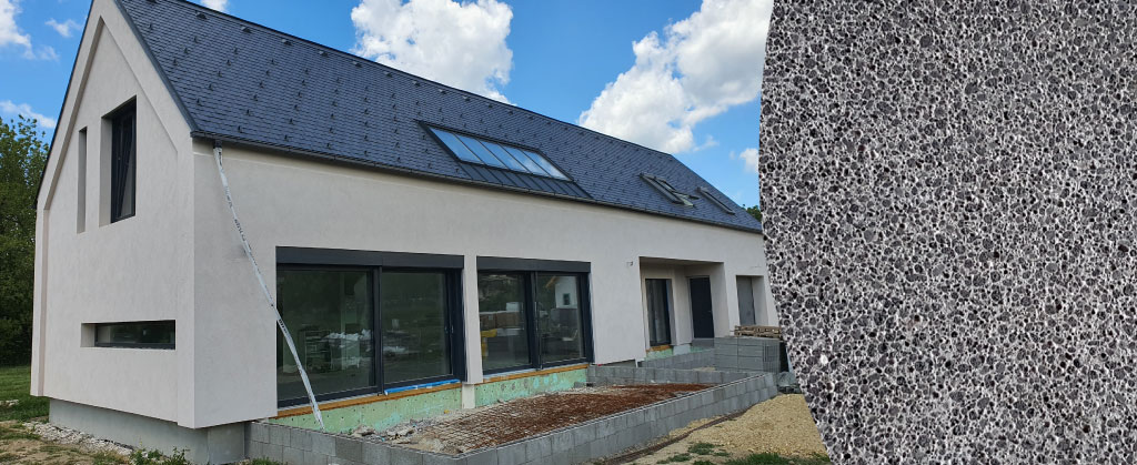 A0 keramický dom