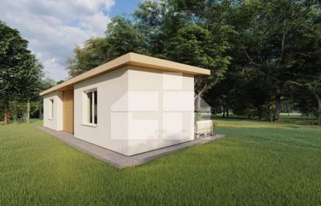Modulový dom 3 izbový