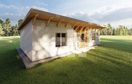 Modulový dom 4 izbový
